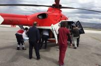 MEHMET KARACA - Tokat'ta İki Ambulans Helikopter Havalandı