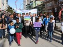 KEMAL YURTNAÇ - Yozgat'ta Otizm Farkındalık Yürüyüşü Yapıldı