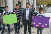 Afyonkarahisar Beyazıt İlköğretim Okulu Öğrencilerinden 'Ağızlar Kirlenmesin' Projesi