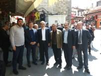 TANJU ÇOLAK - AK Parti'den Kuşadası'nda Tanju Çolak'lı Propaganda