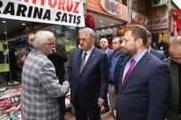 AK Parti Genel Başkan Yardımcısı Hayati Yazıcı, Rize'de Ziyaretlerde Bulundu