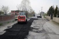 ALT YAPI ÇALIŞMASI - Akyazı Belediyesi Asfalt Çalışmaları Hızla Devam Ediyor