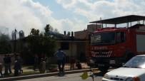 UMURLU - Aydın'da İkamet Yangını
