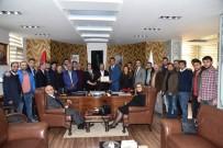 HÜSEYİN ÜZÜLMEZ - Başkan Üzülmez, Kocaeli İnşaat Mühendisleri Odası Yönetimini Ağırladı