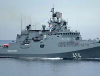 TATBIKAT - Bir Rus gemisi daha Suriye'ye gidiyor