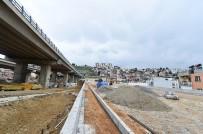 İSTİNAT DUVARI - Büyükşehir'den Bayraklı'ya Yeni Bir Yatırım Daha