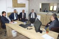 İŞ SAĞLIĞI - Çalışma Ve Sosyal Güvenlik Bakanlığı Bürokratlarından ETO'ya Ziyaret