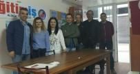 EĞITIM İŞ - Eğitim-İş Aliağa Temsilcisi Mustafa Gök Yeniden Seçildi