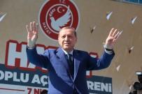 REYHANLI - Erdoğan Açıklaması '(Suriye'nin Vurulması) Yeterli Görmüyorum'