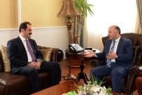 KARANTINA - Gıda Tarım Ve Hayvancılık Bakanlığı Müsteşarı Yazıcı, Vali Azizoğlu'nu Ziyaret Etti