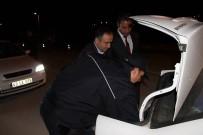 OLTAN - Kaymakam Oltan Bayraktar, Yol Kontrollerine  Katıldı