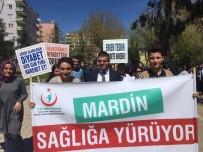 Mardin'de Sağlıklı Yaşam Yürüyüşü Yapıldı