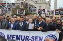 HAMANEY - Memur-Sen'den İdlip'te Katledilenler İçin Gıyabi Cenaze Töreni