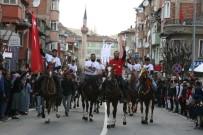 MHP Lideri Bahçeli'yi Atlarla Ve Karanfillerle Karşıladılar