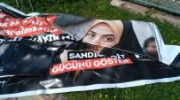 PROVOKASYON - Muratpaşa'da 'Hayır' İçerikli Pankartlara Saldırı