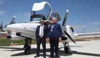 AMANOS DAĞLARI - Rektör Gür, Havacılık Ve Uzay Bilimleri Fakültesinin Eğitim Uçağının Deneme Uçuşuna Katıldı