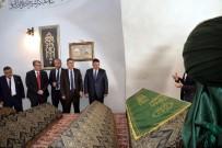 SÜLEYMAN ELBAN - Sağlık Bakanı Yardımcısı Öğütken'den Şeyh Edebali Türbesine Ziyaret