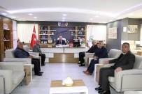 TERÖR MAĞDURLARI - Şehit Aileleri Derneği'nden Başkan Şahiner'e Teşekkür Ziyareti