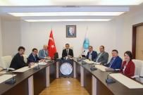 MUSTAFA DOĞAN - Üniversitede Stratejik Plan Toplantısı Yapıldı
