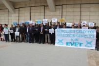 Batman'da 'Türkiye İçin Evet' Yürüyüşü Düzenlendi