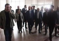 FATMA GÜLDEMET - Bilal Erdoğan, Miting Yolunda Yaralanan Kazazedeleri Hastanede Ziyaret Etti