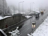 BOLU DAĞı - Bolu'da yoğun kar yağışı