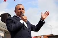MUHTARLIKLAR - Çavuşoğlu Açıklaması Aç Tavuk Kendisini Buğday Ambarında Görür
