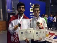 TEKVANDO - Hasan Can Lazoğlu'ndan Altın Madalya