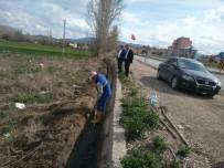 SULAMA KANALI - Hisarcık'ta Sulama Kanalı Temizliği