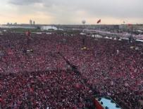 SEMİHA YILDIRIM - Yenikapı'daki evet mitingine milyonlar akın etti