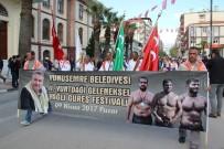 UĞUR AYDEMİR - Manisa Sokaklarında Güreş Heyecanı