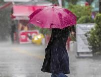 GÖLLER - Meteorolojiden sağanak uyarısı