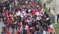 DEMOKRAT PARTI - Muş'ta 'Evet' Yürüyüşü Düzenlendi