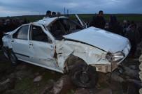 KARACADAĞ - Otomobil Takla Atarak Şarampole Devrildi Açıklaması 1 Ölü