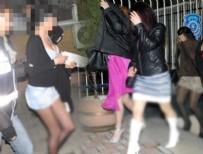 FUHUŞ SKANDALI - Fuhuş operasyonu: 72'si kadın 84 gözaltı