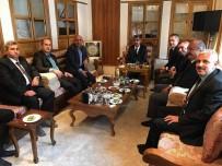 SGK Başkanı Mehmet Selim Bağlı'nın Kilis 'Te Temaslarda Bulundu