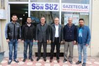 Siirt Valisi Tutulmaz Basın Mensupları Ve Esnafı Ziyaret Etti