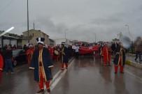 Sinop'ta Yağmur Altında 'Evet'  Yürüyüşü