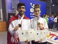 ALİ ŞAHİN - Ümitler Tekvandoda Hasan Can Lazoğlu, Altın Madalya Kazandı
