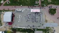İNSAN ZİNCİRİ - 300 Gazi Ve Şehit Yakını İnsan Zinciri Oluşturarak 'Evet' Yazdı