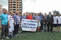 Bakan Soylu Trabzon'da Polisler Ve Basın Mensupları İle Halı Saha Maçı Yaptı