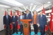 MUSTAFA YAMAN - Bakan Tüfenkci Mardin Valiliğini Ziyaret Etti