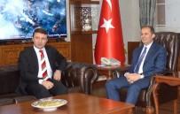 BURHAN KAYATÜRK - Bakan Yardımcısı Yegin'den Vali Taşyapan'a Ziyaret