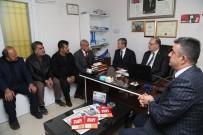 AHMET ÖZTÜRK - Milletvekili Koçer Ve Başkan Tahmazoğlu Konak Mahallesini Ziyaret Etti