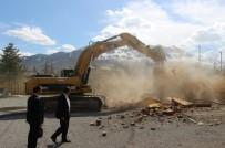 Seydişehir'de Eski Cezaevinin Yıkımına Başlandı