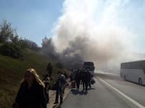 YOLCU OTOBÜSÜ - 48 yolcu ölümden döndü