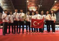 METIN ŞAHIN - Türkiye, Avrupa Ümitler Tekvando Şampiyonası'nı 10 Madalya İle Tamamladı