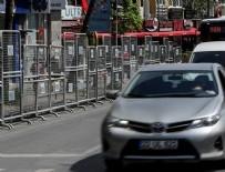 İSTİKLAL CADDESİ - Bu yollar trafiğe kapatıldı!