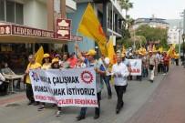EMEK PARTISI - Alanya'da 1 Mayıs İşçi Bayramı Kutlaması