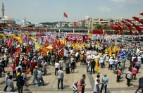 İSTİKLAL CADDESİ - Aydın'da 1 Mayıs İşçi Bayramı Kutlamaları